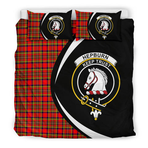 ScottishShopTartan Hepburn Bedding Set - Circle Style
