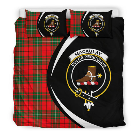 ScottishShopTartan Macaulay Modern Bedding Set - Circle Style