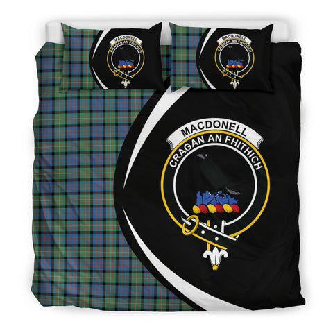 Tartan Macdonnell Of Glengarry Ancient Bedding Set - Circle Style
