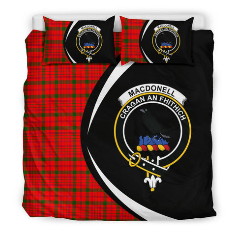 Tartan Macdonnell Of Keppoch Modern Bedding Set - Circle Style