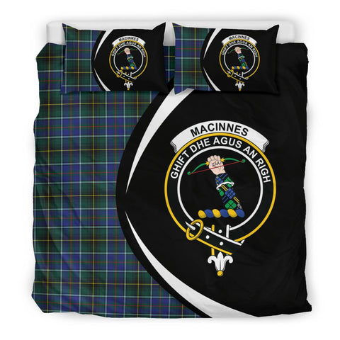 ScottishShopTartan Macinnes Modern Bedding Set - Circle Style