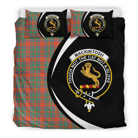 ScottishShopTartan Mackintosh Ancient Bedding Set - Circle Style