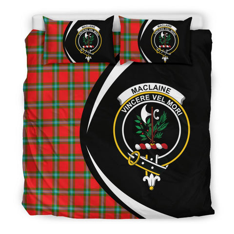 Tartan Maclaine Of Loch Buie Bedding Set - Circle Style