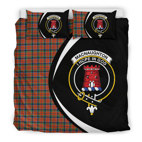 ScottishShopTartan Macnaughton Ancient Bedding Set - Circle Style