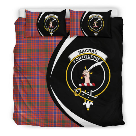 Image of ScottishShopTartan Macrae Ancient Bedding Set - Circle Style