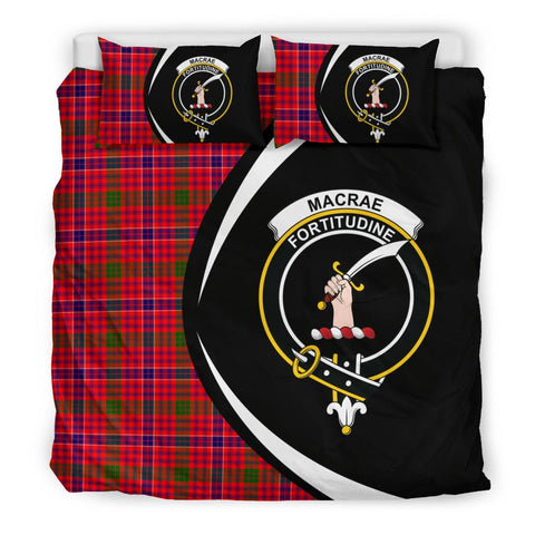 ScottishShopTartan Macrae Modern Bedding Set - Circle Style