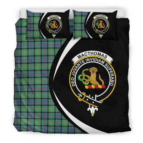 Tartan Macthomas Ancient Bedding Set - Circle Style