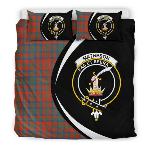 ScottishShopTartan Matheson Ancient Bedding Set - Circle Style
