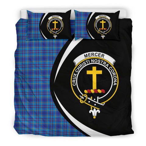 ScottishShopTartan Mercer Modern Bedding Set - Circle Style