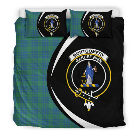 ScottishShopTartan Montgomery Ancient Bedding Set - Circle Style