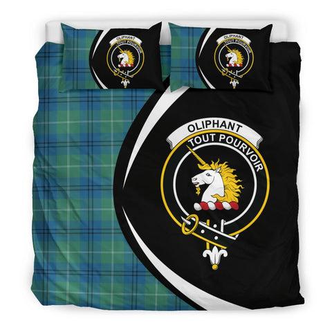 ScottishShopTartan Oliphant Ancient Bedding Set - Circle Style