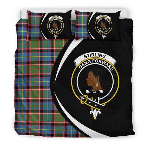 Tartan Stirling & Bannockburn District Bedding Set - Circle Style