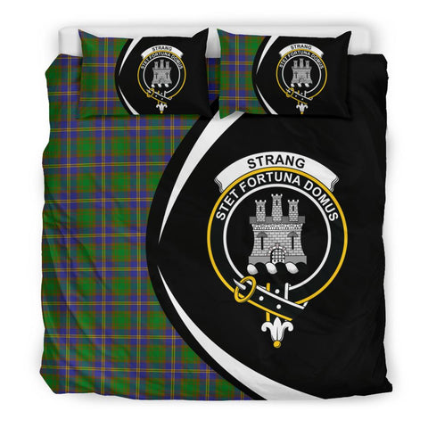 ScottishShopTartan Strange Of Balkaskie Bedding Set - Circle Style