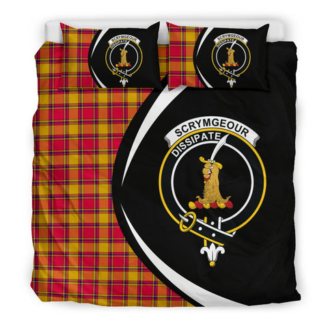 ScottishShopTartan Scrymgeour Bedding Set - Circle Style