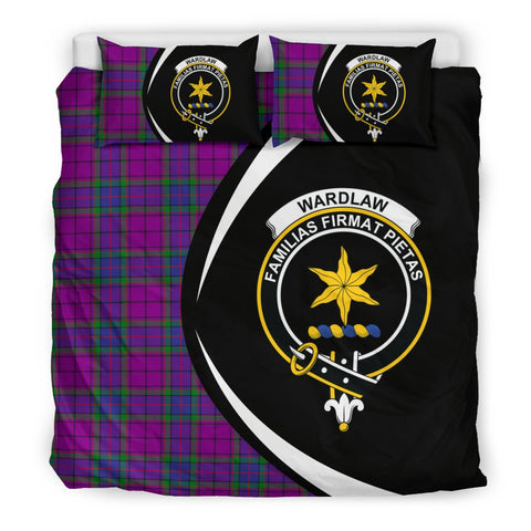 Image of ScottishShopTartan Wardlaw Modern Bedding Set - Circle Style