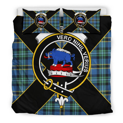 Weir Tartan Duvet Cover Set - Luxury Style King Size