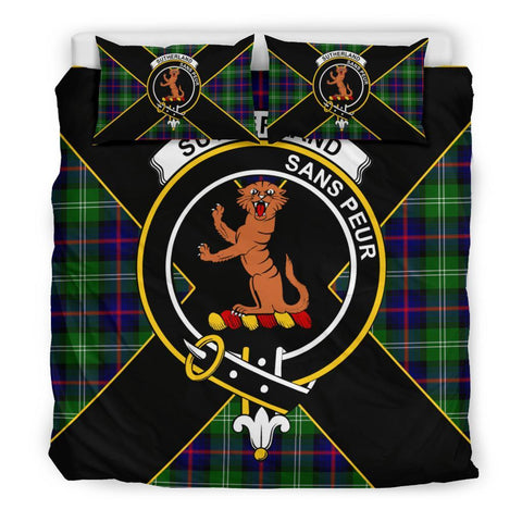 Sutherland I Tartan Duvet Cover Set - Luxury Style King Size