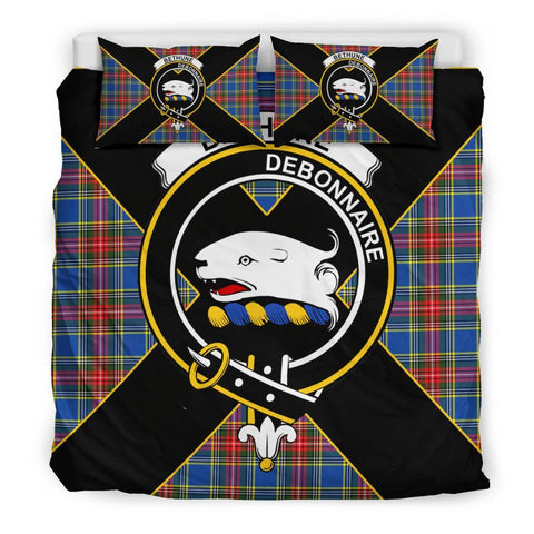 Bethune Tartan Duvet Cover Set - Luxury Style King Size