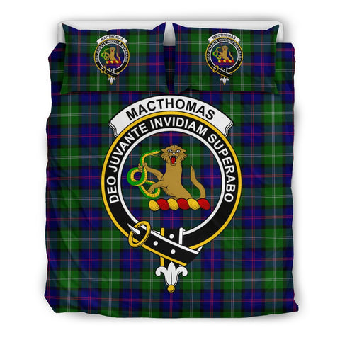 Image of Tartan MacThomas Bedding Set - Clan Crest