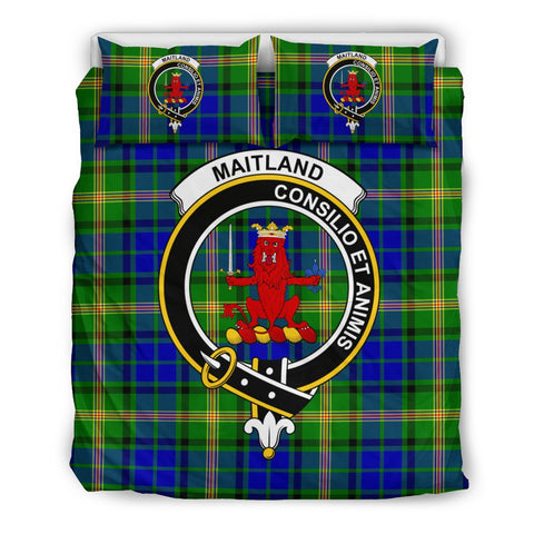 Image of Tartan Maitland Bedding Set - Clan Crest