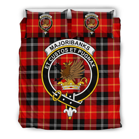Tartan Majoribanks Bedding Set - Clan Crest