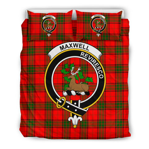 Image of Tartan Maxwell Bedding Set - Clan Crest