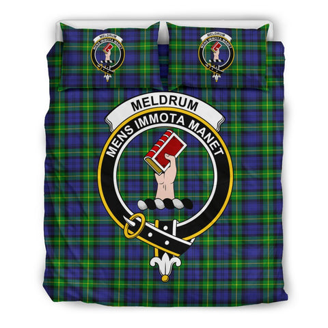 Tartan Meldrum Bedding Set - Clan Crest