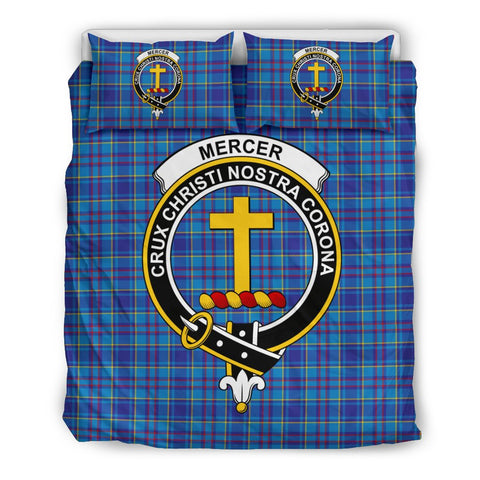 Tartan Mercer Bedding Set - Clan Crest
