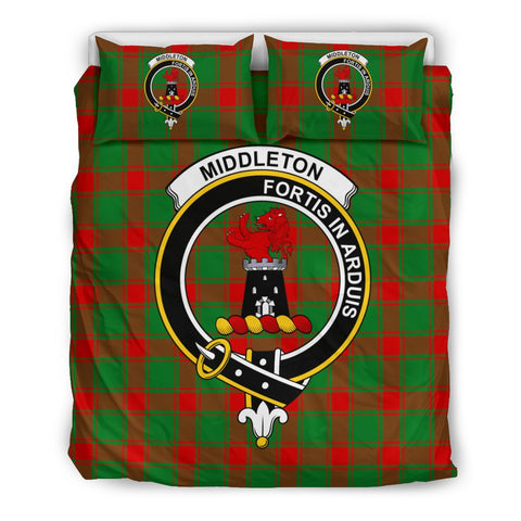 Tartan Middleton Bedding Set - Clan Crest