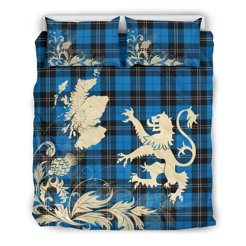 Image of Ramsay Blue Ancient Bedding Set