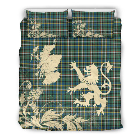 Image of SCOTT GREEN ANCIENT Bedding Set