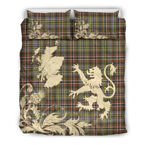 Image of SCOTT GREEN WEATHERED Bedding Set