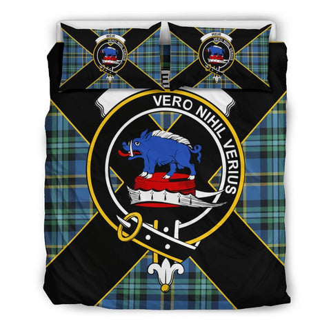 Weir Tartan Duvet Cover Set - Luxury Style Queen Size