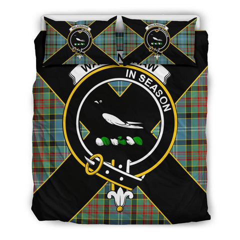 Walkinshaw Tartan Duvet Cover Set - Luxury Style Queen Size