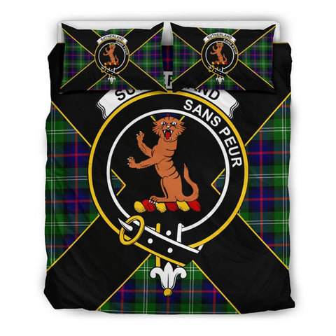 Sutherland I Tartan Duvet Cover Set - Luxury Style Queen Size