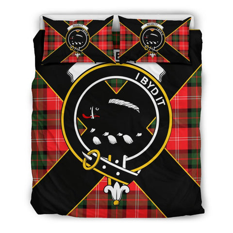 Nesbitt Tartan Duvet Cover Set - Luxury Style Queen Size