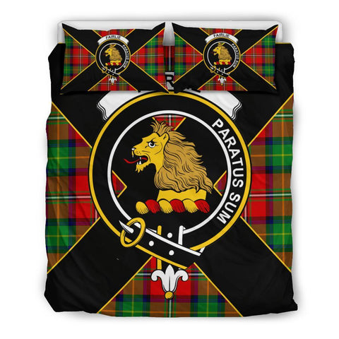 Fairlie Tartan Duvet Cover Set - Luxury Style Queen Size