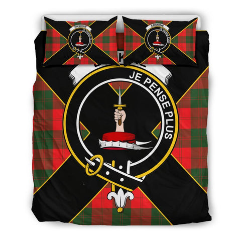 Image of Erskine Tartan Duvet Cover Set - Luxury Style Queen Size