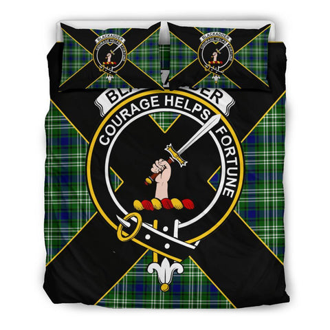 Blackadder Tartan Duvet Cover Set - Luxury Style Queen Size