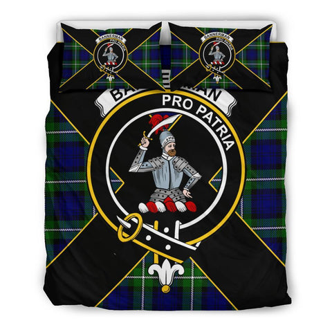 Image of Bannerman Tartan Duvet Cover Set - Luxury Style Queen Size
