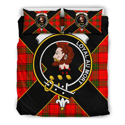 Adair Tartan Duvet Cover Set - Luxury Style Queen Size