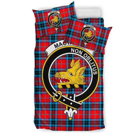 Tartan MacTavish Bedding Set - Clan Crest