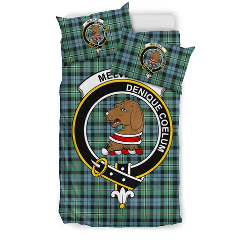 Image of Tartan Melville Bedding Set - Clan Crest