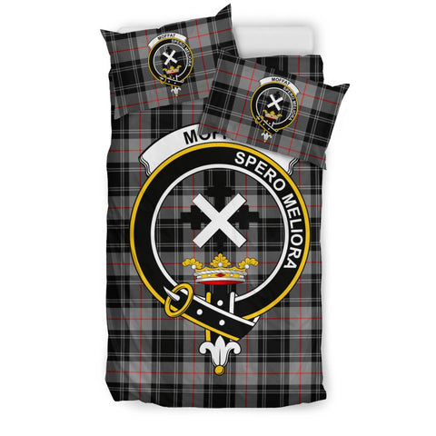 Image of Tartan Moffat Bedding Set - Clan Crest