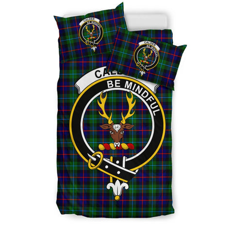 Image of Tartan Calder Bedding Set - Clan Crest