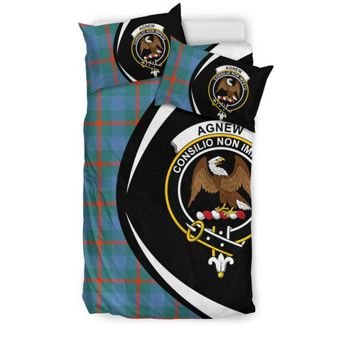 Agnew Ancient Tartan Circle Style Bedding Set
