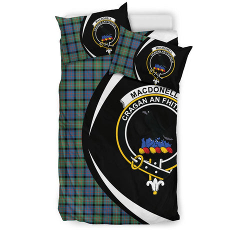 MacDonnell of Glengarry Ancient Tartan Circle Style Bedding Set