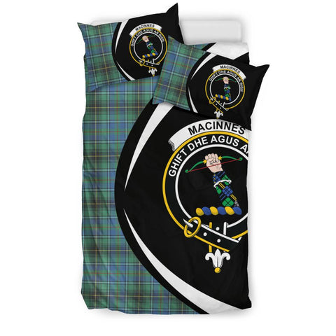MacInnes Ancient Tartan Circle Style Bedding Set