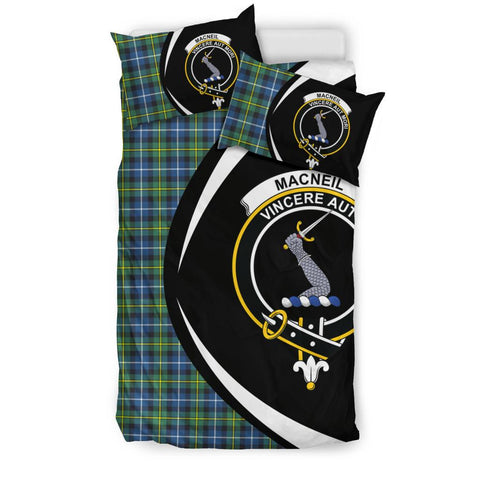 Image of MacNeill of Barra Ancient Tartan Circle Style Bedding Set