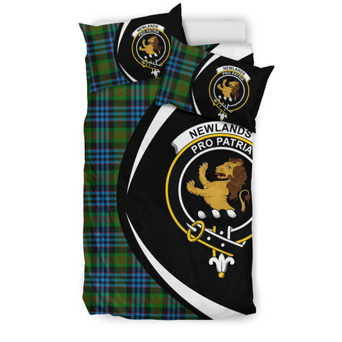 Newlands of Lauriston Tartan Circle Style Bedding Set